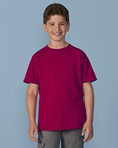 656e9f000c51 Gildan G200B - 6 oz Youth Ultra Cotton T-Shirt 100% preshrunk cotton Blank  #T-Shirt Wholesale Price: US$ 1.66