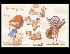 Characters! on Behance ★ || CHARACTER DESIGN REFERENCES • Find us on www.facebook.com/CharacterDesignReferences and www.pinterest.com/characterdesigh Remember that you can join our community on www.facebook.com/groups/CharacterDesignChallenge and participate to our monthly Character Design contest || ★