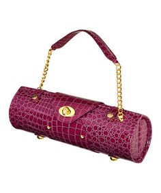 Take a look at this Purple Wine Carrier Shoulder Bag by Picnic at Ascot on #zulily today! 29.99