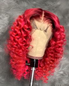 Buy this long wavy wigs for black women lace front wigs human hair wigs african american wigs : Buy this long wavy wigs for black women lace front wigs human hair wigs african american wigs the same as the hairstyles in picture Baddie Hairstyles, Ponytail Hairstyles, Weave Hairstyles, Pretty Hairstyles, Short Hairstyles, Curly Hair Styles, Natural Hair Styles, Wig Styles, Colored Wigs