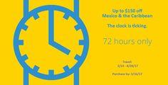 Funjet 72 Hour Sale - https://traveloni.com/vacation-deals/funjet-72-hour-sale-2/ #mexicovacation #caribbeanvacation #72hoursale