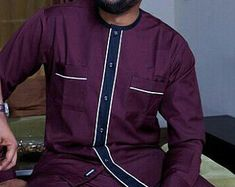 Tenue des hommes africains africains vêtements par AnkaraBowTies