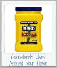 Wow, didn't know there were so many cleaning recipes that used cornstarch!