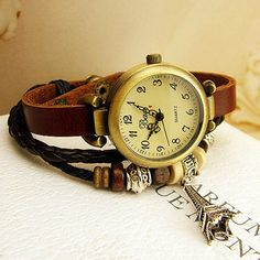 Lovely Eiffel Tower Rope Bracelet Watch LOVE IT! WANT IT! HAVE TO HAVE IT!