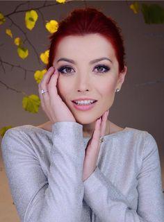 Elena-Gheorghe I Love Redheads, Redhead Girl, Cat Eyes, Red Heads, Romania, Haircuts, Cute Girls, Musicians, Faces
