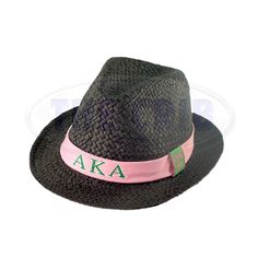 80fc67db35201 Soror Fedora Hat for Alpha Kappa Alpha