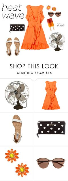"""""""Heat Wave"""" by coolmommy44 ❤ liked on Polyvore featuring Kate Spade, Witchery, polyvoreeditorial, heatwave and polyvorecontest"""