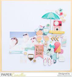 Summer by Veera #scrapbook