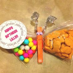 Life Sprinkled With Glitter: Healthy Birthday School Treat Idea