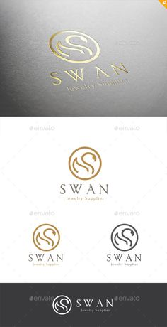 Swan — Vector EPS #eagle #smart • Available here → https://graphicriver.net/item/swan/11451620?ref=pxcr