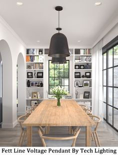 This Significantly Scaled Pendant Light Cohesively Blends Its Characteristic Domed Silhouette With Incredibly Deep Sand CastingDining Room