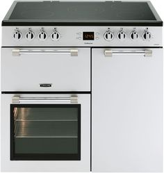 Leisure Cookmaster Electric Range Cooker Silver CK90C230S Silver