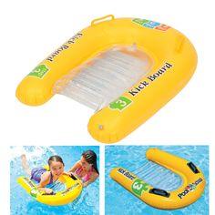 Sale 25% (8.59$) - IPRee™ Pool Inflatable Kick Board Float Swimming Mat Baby Child Water Sports Raft