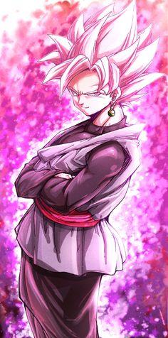 Goku Black Super Saiyan Rosé
