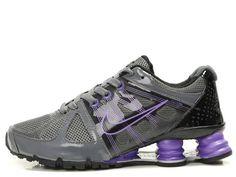 6ea92d87dab194 Image detail for -Nike Shox Turbo II Womens Shoes Grey Purple