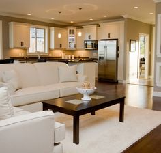 open wall concept | open concept living-dining-kitchen, aire