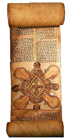 Ethiopian Scroll 5 Catholic Religion, Catholic Art, Religious Images, Religious Art, African Culture, African Art, Ethiopia People, Fingal's Cave, Horn Of Africa