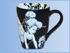Neverland Shop: Black and White Mok Tinker Bell