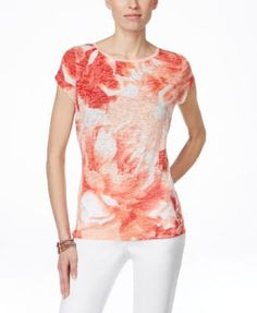 INC International Concepts Printed T-Shirt, Only at Macy's