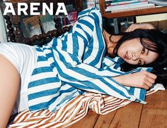 Euaerin - 9Muses for Arena Homme + April 2015 issue