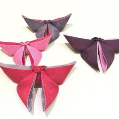 Japanese Bag, Origami Butterfly, Korean Art, Rakhi, Paper Piecing, Textile Art, Arts And Crafts, Wraps, Bows