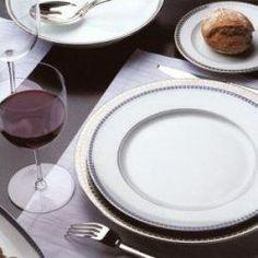 Bernardaud Athena Platinum Navy. China Dinnerware & Bernardaud Naxos - Exemplifying a contemporary yet classic aesthetic ...