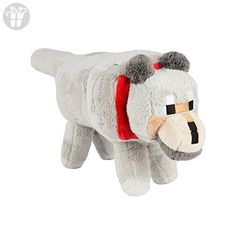 "Minecraft 15"" Wolf Plush Stuffed Toy (*Amazon Partner-Link)"