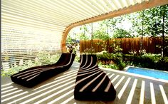 Shaded Patio Design by Andy Sturgeon