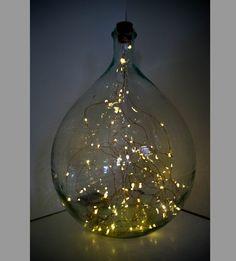 Lampe bocal guirlande LED  pile Luminaires par pimp my light