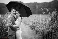 Vineyard wedding portraits Laurita Winery Wedding. Raining portraits #brideandgroompose #poseideas #weddingday #njwedding #winerywedding