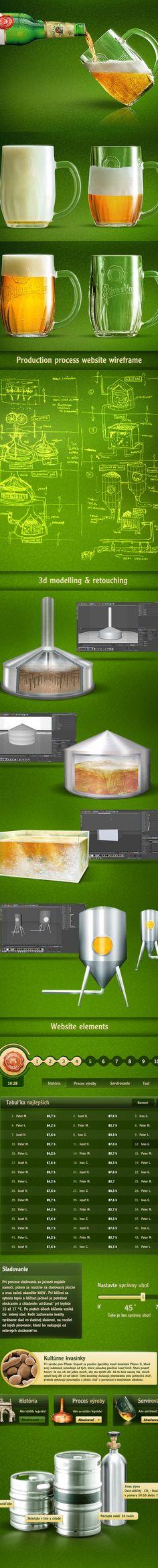Pilsner Urquell Master Bartender 2012 by Viktor Karvai, via Behance Best Pubs, Pub Food, Food Combining, Beer Recipes, Bartender, My Works, Craft Beer, Drinking, Behance