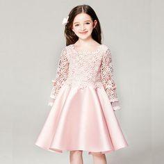 58 Ideas For Dress Brokat Anak Cute Little Girl Dresses, Baby Girl Party Dresses, Dresses Kids Girl, Baby Dress, Girl Outfits, Vip Dress, Dress Brukat, Kebaya Dress, Dress Anak