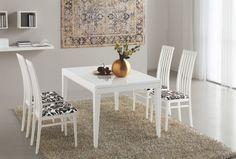 Tavolo allungabile rettangolare Connubia Calligaris Fly Table da 130 cm, struttura wengè o bianco ottico opaco, piani in vetro temperato caffè o extrabianco
