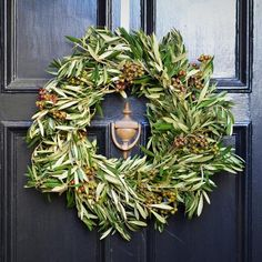 The first thing that someone will see as they're entering your home is the front door. Why not give a housewarming gift that will help make an impression from the very second guests arrive? Get the new homeowners a beautiful seasonal wreath to hang on their front door. This will enable them to bring color, fragrance and beauty to their home and they will think of you every time they walk into their house. Try this Olive and Eucalyptus Pod Wreath by Club Botanic.