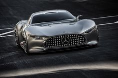 Mercedes-Benz AMG Vision Gran Turismo for PS3 GT6 Game. yes. it is a virtual car. hard to believe, isn't it?