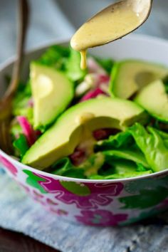 Apple Cider Vinegar Salad Dressing Recipe and how to make home-made salad dressings from scratch on healthy seasonal recipes