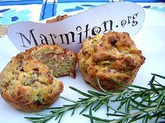 Recette Muffins au jambon et olives vertes de Nadine