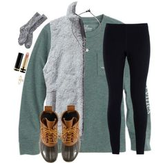 What I wanna wear right now but shirt got bleached by christyaphan on Polyvore featuring Patagonia, NIKE, L.L.Bean, Gucci and Vineyard Vines