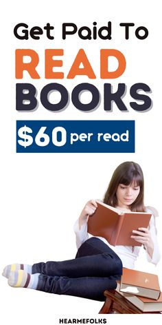 Get Paid to Read Books ($60/Read). Learn to get paid to read books aloud, get paid to read & review books for Amazon, get paid to read audiobooks! Make money from home with this cool money-making hobby. Online Side Jobs, Legit Online Jobs, Online Work, Earn Money From Home, Earn Money Online, Make Money Blogging, Online Cash, Hobbies That Make Money, How To Make Money