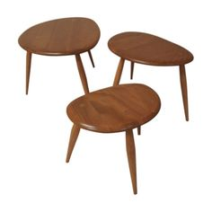 Nest of Ercol Pebble Tables