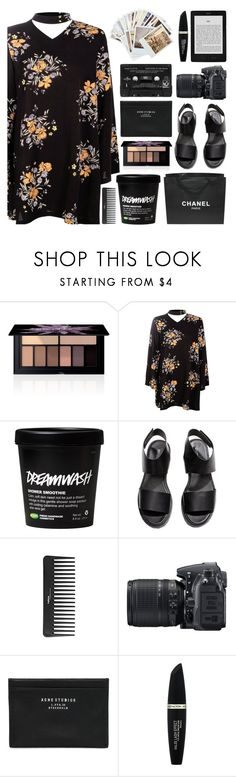 """""""A field of flowers"""" by jungshook ❤ liked on Polyvore featuring Smashbox, Boohoo, Chanel, H&M, Sephora Collection, Nikon, Acne Studios, Max Factor, Chronicle Books and Floyd"""
