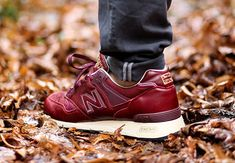 "New Balance 577 ""Made in England"" - Red Leather - SneakerNews.com"