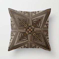 CenterViewSeries297 Throw Pillow by fracts - fractal art - $20.00