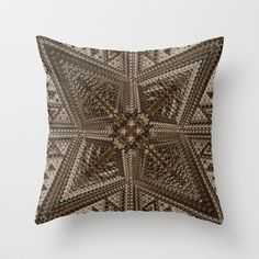 CenterViewSeries297 Throw Pillow by fracts - fractal art - $20.00