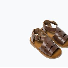 LEATHER FLAT SANDALS-SHOES-BABY BOY | 3 months-3 years-KIDS | ZARA United States