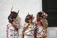 Children disguised as devils in the the festival Diabletes Teguise Province of Las... © Jesús Nicolás Sánche