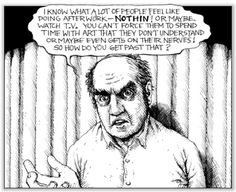 American Splendor comic writer - Harvey Pekar