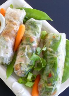Delicious, fresh Vietnamese Spring Rolls