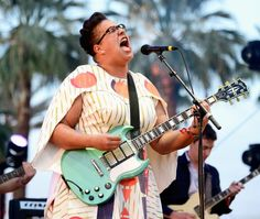 Alabama Shakes's frontwoman Brittany Howard went all out with her wardrobe at Coachella