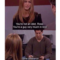 ross and monica weird relationship